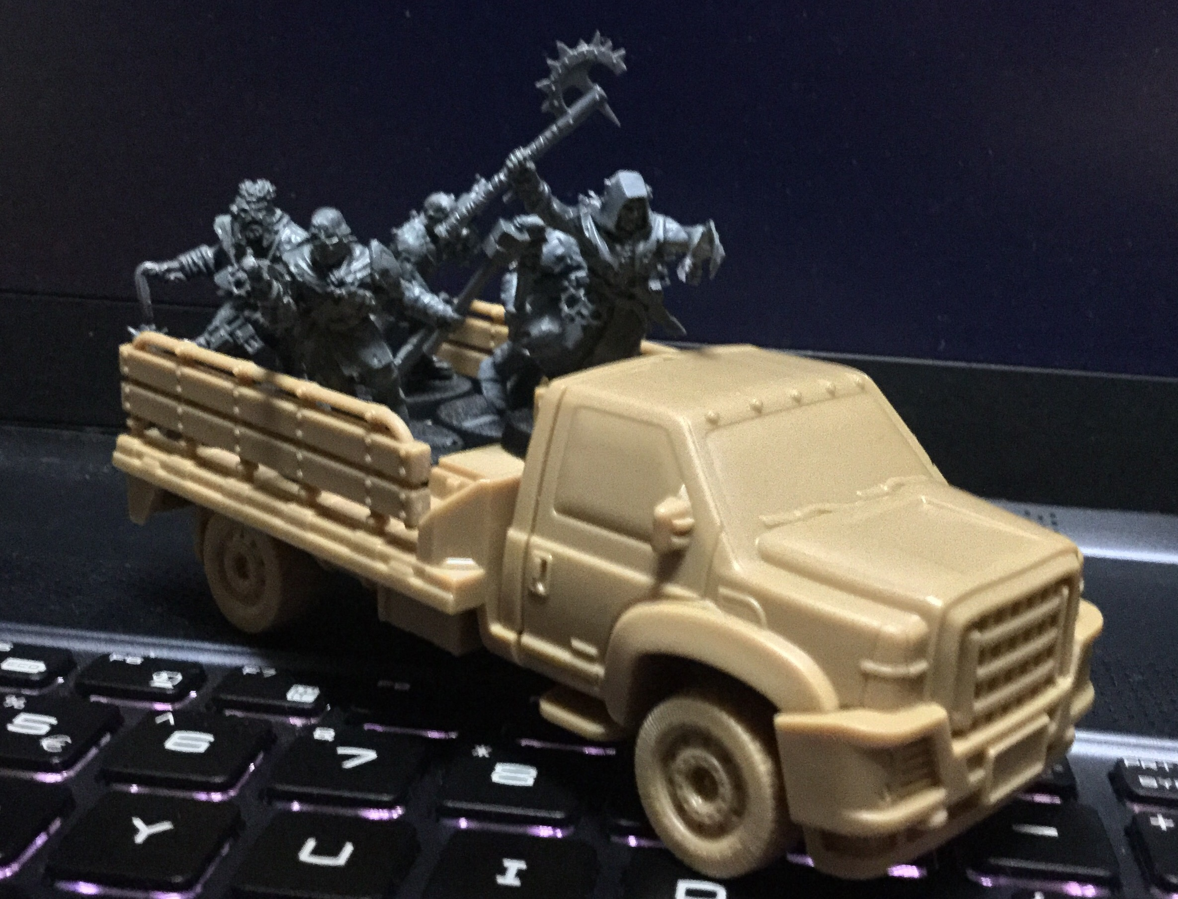 Mantic's Flatbed Truck Kit