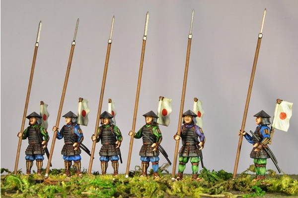 Wargames-Factory-Ashigaru-with-Yari-Rank